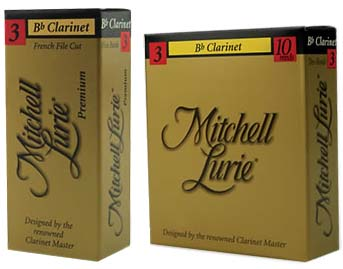 Mitchell Lurie Clarinet Reeds 10 Per Box (MLRDCL)