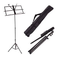 FOLDING MUSIC STAND BLACK (stand)