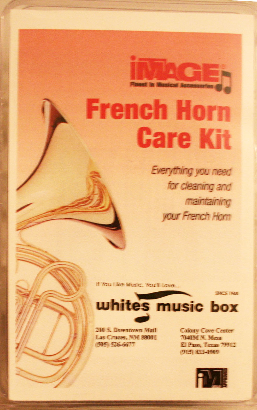 IMAGE FRENCH HORN CARE KIT (FHCK100)